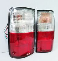 REAR TAIL LIGHT LAMP PAIR FOR TOYOTA HILUX PICKUP MK3 1989-95 90 91 92 93 TRUCK
