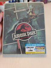 Jurassic Park Blu ray Steelbook sealed
