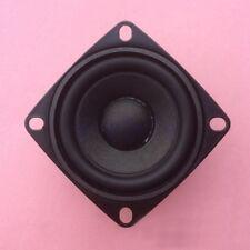 """2pcs 2""""Zoll 52MM 4Ohm 4Ω 5W quadratischer Lautsprecher für Bluetooth Horn GE"""