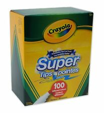 Crayola - Super Tips Washable Markers, 100 Count