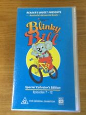 BLINKY BILL SPECIAL COLLECTORS EDITION ON VHS EPISODES 7-12 ABC VIDEO LIKE NEW