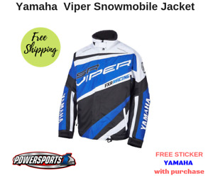 YAMAHA VIPER BY FXR SNOWMOBILE JACKET BLUE SMB-16JVP-BL-XX SIZE 2X-LARGE