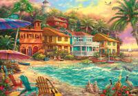 Jigsaw puzzle retro charming color dream beach town 38 * 52 cm 500 pieces tp05-1
