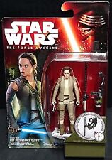 """Star Wars REY (RESISTANCE OUTFIT) The Force Awakens 3.75"""" Figure Daisy Ridley"""