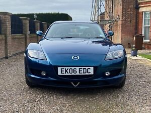 Mazda Rx-8 Evolve in Phantom Blue