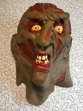 Freddy Kruger Mask 1995 New Line Productions Halloween Mask