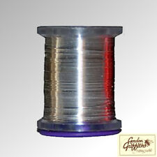 Gordon Griffiths Wire Silver Medium Fly Tying Wire 1 x 25m Spool (WIRE)