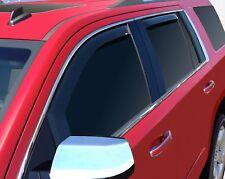 In-Channel Wind Deflectors: 2015-2020 Cadillac Escalade