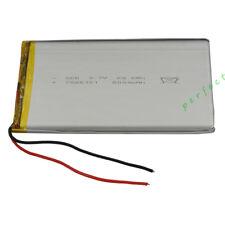 3.7V 8000 mah polymer li lithium cellules lipo pour dvd psp ipod tablette pc 7565121