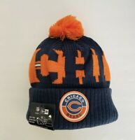 2021 Chicago Bears New Era NFL Knit Hat On Field Sideline Beanie Hat