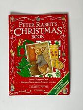 Vintage Peter Rabbit's Christmas Book Beatrix Potter F. Warne & Co.