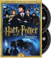 Harry Potter and the Sorcerer's Stone [New DVD] 2 Pack