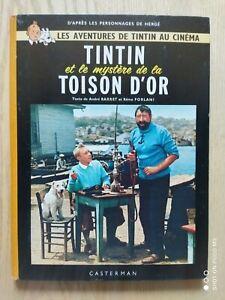 Tintin To Movie The Mystery de La Fleece Gold Casterman Eo 1962