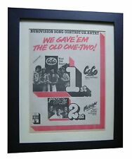 EUROVISION SONG CONTEST+Coco+RARE ORIGINAL 1978 POSTER AD+FRAMED+FAST WORLD SHIP
