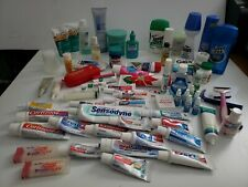 Lot of 90s 00s Beauty Products Skin Mouth Personal Care Containers Bottles Tubes