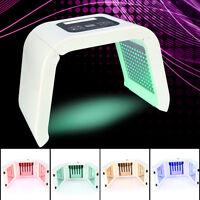 4/7 Colors Light Photon LED Electric Facial Mask PDT Skin Rejuvenation Therapy
