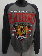 CHICAGO BLACKHAWKS LARGE SWEATSHIRT CREWNECK NHL HOCKEY MENS CARL BANKS G-III