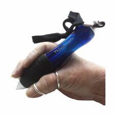 Thixotropic Super Big Fat Pens for Arthritis Blue Rubber Grip 5 PK Black Ink 002