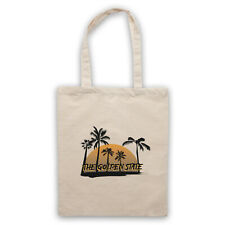 CALIFORNIA THE GOLDEN STATE AMERICAN ICONIC SLOGAN SHOULDER TOTE SHOP BAG