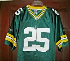 RYAN GRANT Jersey GREEN BAY PACKERS Authentic #25 Throwback  Green NWT NFL sz 54