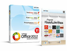 SoftMaker Office Standard 2012 SoftMaker Office-Paket inkl. Handschriften 3 PC