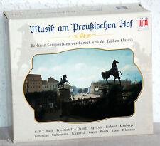 5 CD-Set - MUSIK AM PREUßISCHEN HOF - Berliner Komponisten des Barock