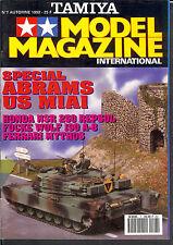 TAMIYA MODEL MAGAZINE N°7 1992