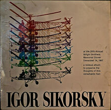 IGOR SIKORSKY AT THE 20TH WRIGHT BROTHERS MEMORIAL DINNER-SEALED1982LP