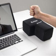 Big Enter Stress Relief Enter Key Unbreakable USB Pillow Desktop Punch Bag Gift