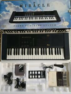 The Miracle Piano Teaching System Nintendo Rare with Original Box-Tested & Works