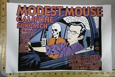 2000 Rock Roll Concert Poster Modest Mouse Califone Brian Ewing S/N LE #150