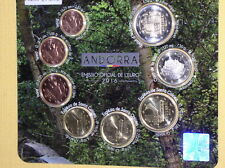 Andorra 2016 - 8 Münzen - 1 ct bis 2 Euro unc lose