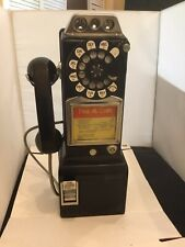 Vintage Payphone 3 Slots 233G Bell System Made By Western Electric