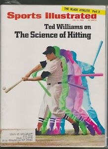 Nice Sports Illustrated July 8,1968 Ted Williams Boston Red Sox