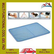MULTI FUNCTIONAL COOL GEL PAD COOLING PILLOW BED MATTRESS TOPPER YOGA PET CAR