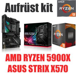 AMD 🆁🆈🆉🅴🅽 9 5900X ● ASUS X570 STRIX Mainboard ● Ryzen Bundle Kit