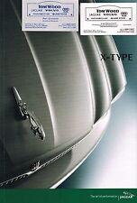 Big 2003 JAGUAR X-TYPE Catálogo/CATALOG; 2.5 , 3.0 , Sport Paquete