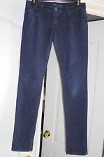 PINK AVE. Stretchy Dark Wash Denim Shinny Jeans  Sz 1
