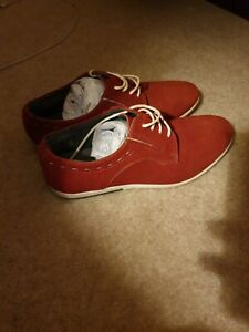 Mens Suede Leather Shoes  size 41