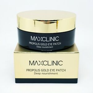 MAXCLINIC Propolis Gold Eye Patch 60pcs Anti Wrinkles Deep Nourishment K-Beauty