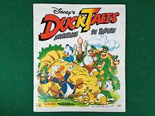 ALBUM Figurine Disney DUCK TALES Panini 1988 + 3 Fig.DANONE COMPLETO M.BUONO/OTT