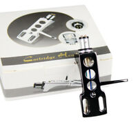 Headshell glänzend schwarz / SME Tonabnehmer Systemträger Halterung in hochglanz