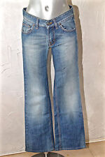 bonito jeans bootcut denim mujer HUGO BOSS NARANJA elástica TALLA W28 L30