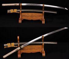 Clay Tempered Pattern Steel Japan Samurai Sword Katana Iron Sharp High Quality