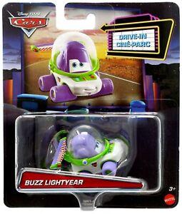 DISNEY PIXAR CARS Toy Story - BUZZ LIGHTYEAR DRIVE-IN Diecast CAR Mattel remix