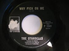 """THE STANDELLS  - """"Why Pick On Me"""" B/W """"Mr. Nobody"""" P`1541 Canada issue 1966"""