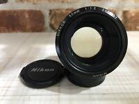[NEAR MINT]  Nikon Ai-S Nikkor 50mm F1.2 Standard Prime MF Lens from Japan #377