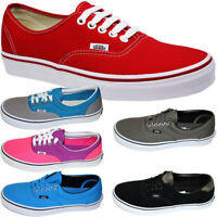 New VANS Authentic Era Mens Womens Unisex Canvas Shoes Lace up Trainers