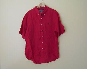Polo Ralph Lauren Men's Linen Shirt