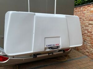 Motorhome rear storage box (Thule) , fitted and used only once, rails inc.